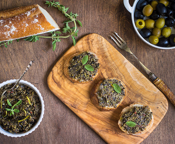 Traditional Olive Tapenade Recipe | Lindsay
